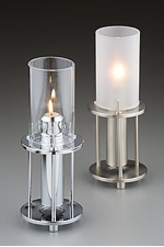 Candle lamp in casing